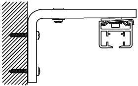 """Горизонтальная раздвижка электроуправляемых карнизов.  Эксклюзивная бесшумная карнизная система  """"G-Rail 6200 """" ."""